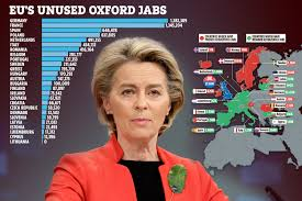 Giorgia meloni vs ursula von der leyen. Fears Britain S Covid Vaccine Rollout Could Be Delayed By Two Months If Eu Bans Exports