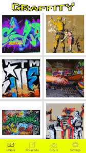 Download 110+ royalty free graffiti coloring pages vector images. Graffiti Coloring Pages Color By Number For Android Apk Download