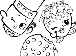 cookie coloring pages printable free strawberry lipstick swirl c disney car col