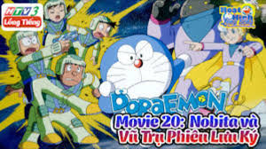 Doraemon Movie 20 - Nobita Và Vũ Trụ Phiêu Lưu Ký | Ảnh Đẹp Doraemon -  YouTube