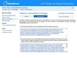 entering your concentration statement  ap studio art   digital  concentration entry