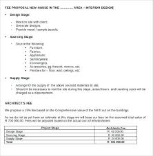 Quote Proposal Template Delectable Architectural Design Quotation Sample At Home Proposal Ideas Winsome