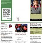 Candidate Brochure Template Political Candidate Brochure Template ...