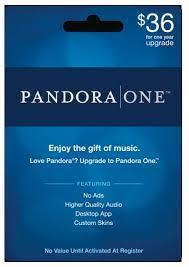 pandora gift subscriptions
