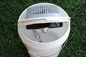 how to make a diy portable bucket air