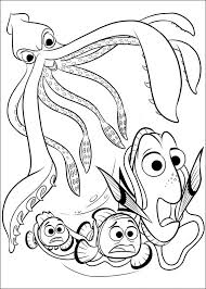 Small Picture Finding Dory coloring pages to download and print for free