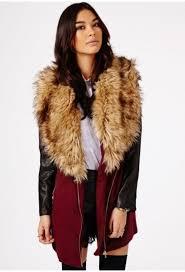 jacket coat winter coat fur fur coat faux fur burdy red red coat leather black winter