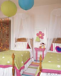 two girls bedroom ideas. Pink And Green Girls Bedroom Ideas : Two Accented With Pottery Barn Kids Accessories M