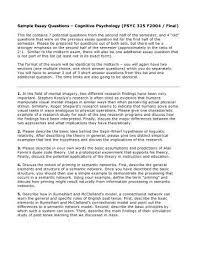 Ap Psychology Sample Essay Questions Surfingmadonna Org