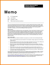 Memo Format Apa Examples And Forms