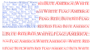 american flag word art american flag wordart com