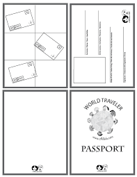 Free Passport Template For Kids passport template passport for kids passport wwwchillola 1