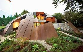 Small Picture Copper Dome House is a Puzzling Garden Home Inhabitat Green