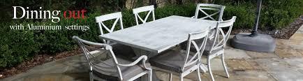 Aluminium Outdoor Settings  Outdoor DiningAluminium Outdoor Furniture