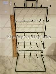 china simple hanging retail display fixtures 5 tier 25 g wire counter display rack supplier
