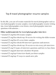 photographer sample resume sample resume for executive assistant app6891 thumbnail 4jpg cb 1433253666 top8travelphotographerresumesamples 150602140018 lva1 app6891 thumbnail 4 top 8 travel photographer resume samples