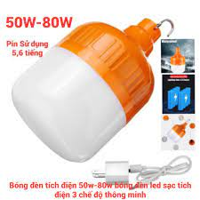 Nơi bán [Hàng chất lượng]Bóng đèn tích điện 4-6h cắm usb - Đèn sạc tích điện  usb không cần dây điện giá rẻ 110.000₫