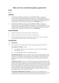 Website Design And Development Contract Template 28 Web Development Agreement Template Website