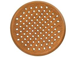 60 inch round wood table tops thatch solid cast aluminum thatch round table top 60 round wood table tops