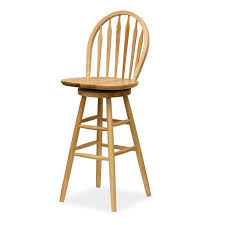 winsome wood mission shaker natural bar stool