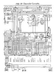 auto wiring diagram 2011 this wiring diagram for 1958 trought 1959 chevrolet corvette the chevrolet corvette was first offered in 1953 and was the first all american sports car