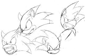 15 Sonic Lineart Werehog For Free Download On Ayoqqorg
