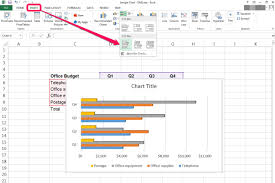 Create Clustered Bar Chart Excel How To Create A Bar Graph In An Excel Spreadsheet It Still
