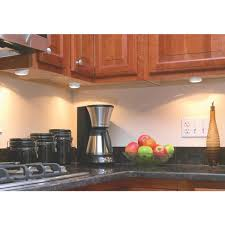 under cabinet plug in lighting. Good Earth Lighting Plug-In Puck Xenon Under Cabinet Light Kit - G9163-WHX Plug In H