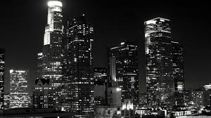 black and white cityscapes buildings los angeles wallpaper