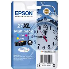 <b>Картридж EPSON</b> C13T27154022 T2715 Multipack 3-colour <b>27XL</b> ...