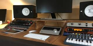 diy recording studio desk