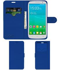 Alcatel POP S9 Flip Cover by ACM - Blue ...