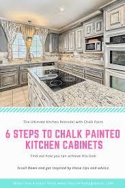 chalk paint kitchen cabinets. Hello, Friends! With This Post, I Am Going To Help You Fall In Love Your Kitchen All Over Again Simply By Using Paint. But Not Just Any Chalk Paint Cabinets