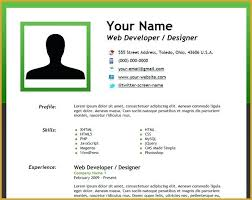 How To Do A Simple Resume For A Job Sample Business Template