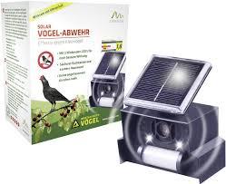 Gardigo Solar Repeller Vogelverschrikker Meerdere Frequenties Led