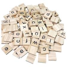 Making Wooden Games ABWE Best Sale Wooden Scrabble Full Set Of 100 Craft Board Games 43