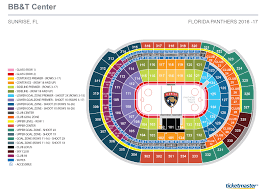 seating charts  bbt center