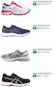 264 Best Asics Running Shoes December 2019 Runrepeat
