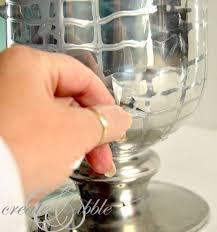 mercury glass vase createandbabble