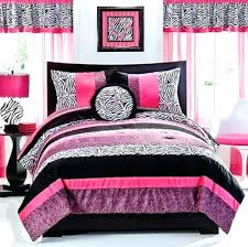 zebra twin comforter set pink zebra bedroom set seventeen comforter set 3 pink black leopard zebra
