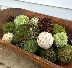 Decorative Moss Balls Moss Balls Decor Assorted Birch Bark And Free Shipping Ornamental 90