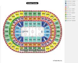 Minnesota Wild Seating Chart View United Center Chicago Il Seating Chart View