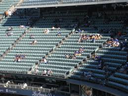 Dodger Stadium Reserve Level Infield Baseball Seating