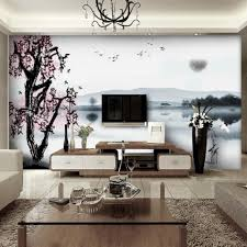 Palm Tree Decor For Living Room Decoration Ideas Fascinating Blue Summer Palm Trees Wall Painting
