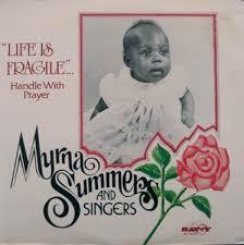 MYRNA SUMMERS AND SINGERS / LIFE IS FRAGILE SAVOY LP Vinyl record 中古レコード通販