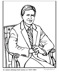 Small Picture Free printable President Jimmy Carter coloring pages Presidents