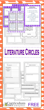 getting started literature circles essay topics literature literature circle resources from the curriculum corner book clubs