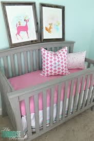 beautiful gray crib makeover with annie sloan chalk paint theturquoisehome com