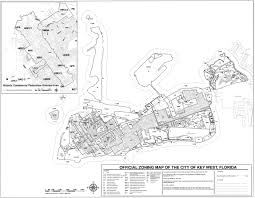 Key west zoning map small