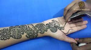 Mehandi Design In Arabic Style Simple Arabic Style Mehndi 2016 Arabic Mehndi For Full Hands Simple Mehndi Designs